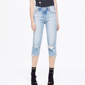 Mother Superior The Almost Saint Crop Jean Size 25